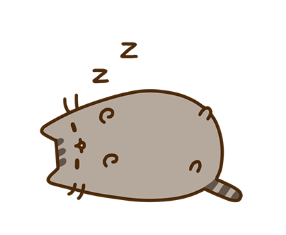 Pusheen Facebook sticker #30