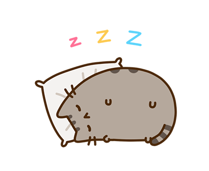 Pusheen Facebook sticker #31