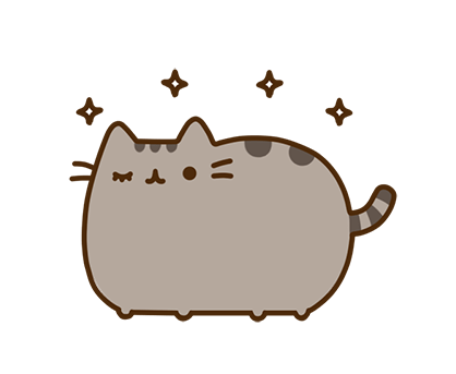 Pusheen Facebook sticker #32