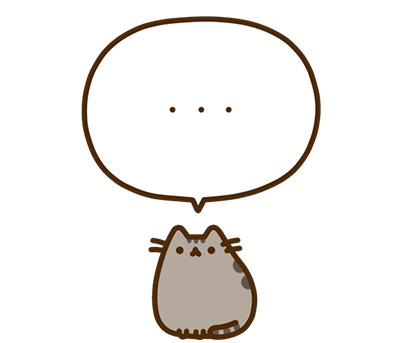 Pusheen Facebook sticker #33