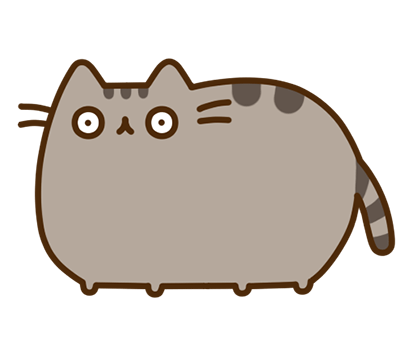 Pusheen Facebook sticker #34