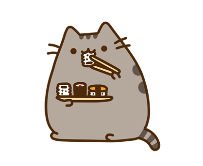 Pusheen Facebook sticker #35