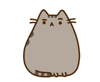 Pusheen Facebook sticker #36