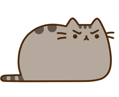Pusheen Facebook sticker #37