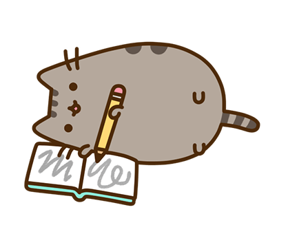Pusheen Facebook sticker #38