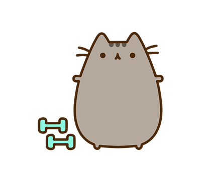 Pusheen Facebook sticker #39