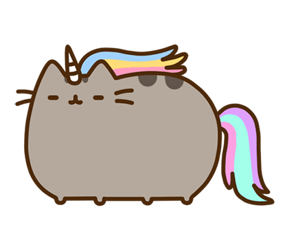 Pusheen Facebook sticker #40