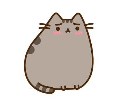 Pusheen Facebook sticker #41