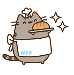 Pusheen Eats Facebook sticker #5
