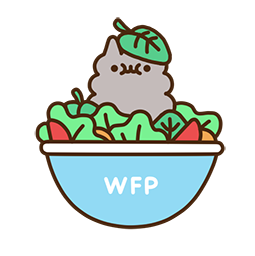 Pusheen Eats Facebook sticker #7