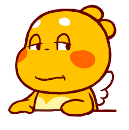 QooBee Agapi Facebook sticker #1