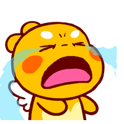 QooBee Agapi Facebook sticker #9