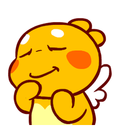 QooBee Agapi Facebook sticker #13