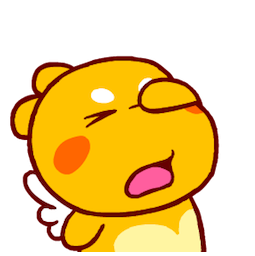 QooBee Agapi Facebook sticker #14