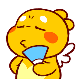 QooBee Agapi Facebook sticker #15