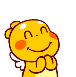 QooBee Agapi Facebook sticker #18
