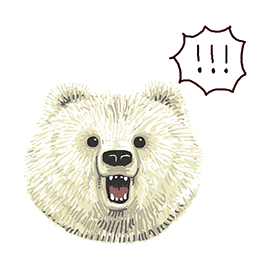 Real Betakkuma Facebook sticker #24