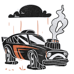 Revved Up Facebook sticker #9