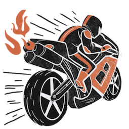Revved Up Facebook sticker #14