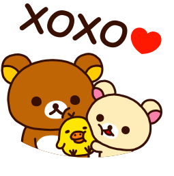 Facebook Stickers Rilakkuma