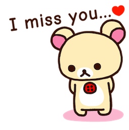 Rilakkuma Facebook sticker #8