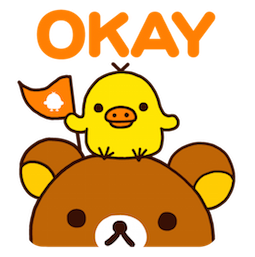 Rilakkuma Facebook sticker #14