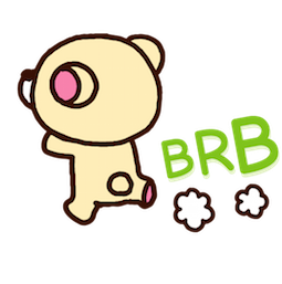 Rilakkuma Facebook sticker #16