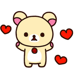 Rilakkuma Facebook sticker #21