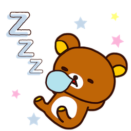 Rilakkuma Facebook sticker #23