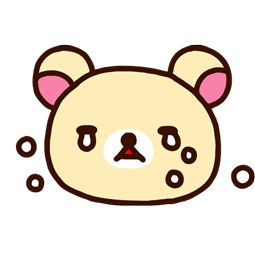 Facebook / Messenger Rilakkuma sticker #24