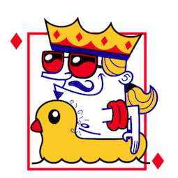 Quinte royale Facebook sticker #14