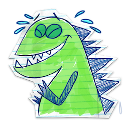 Scribble Squad Facebook sticker #2