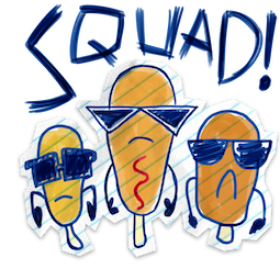 Scribble Squad Facebook sticker #4