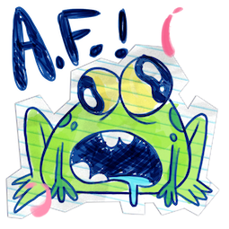 Scribble Squad Facebook sticker #6