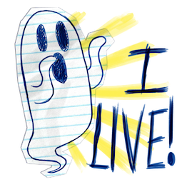 Scribble Squad Facebook sticker #11