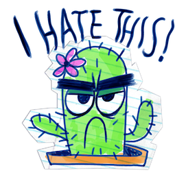 Scribble Squad Facebook sticker #12