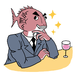 Ersthafter Business Fish Facebook sticker #2