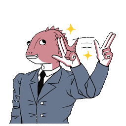 Ersthafter Business Fish Facebook sticker #18