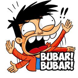 Si Juki Facebook sticker #4