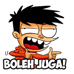 Si Juki Facebook sticker #5