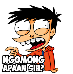 Si Juki Facebook sticker #17