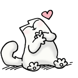 Simon's Cat Facebook sticker #9
