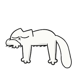 Simon's Cat Facebook sticker #11