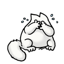 Simon's Cat Facebook sticker #20