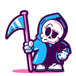 Skeleton Crew Facebook sticker #11