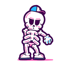Skeleton Crew Facebook sticker #15