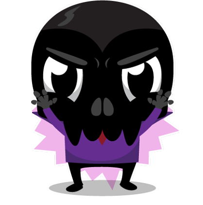 Skullington Facebook sticker #4