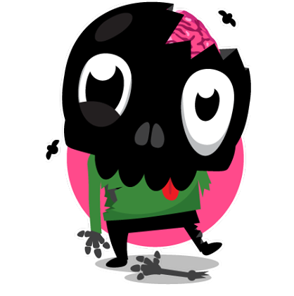 Skullington Facebook sticker #7