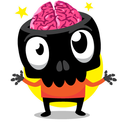 Skullington Facebook sticker #8