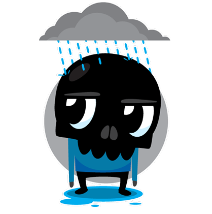 Skullington Facebook sticker #10
